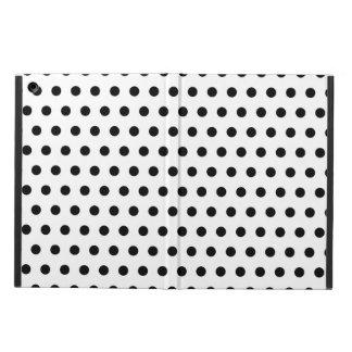 Black and White Polka Dot Pattern. Spotty. iPad Air Case