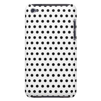 Black and White Polka Dot Pattern. Spotty. iPod Touch Cover