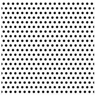 Black and White Polka Dot Pattern. Spotty. Photo Cutouts