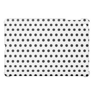 Black and White Polka Dot Pern. Spotty. Case For The iPad Mini