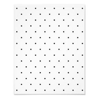 Black And White Polka Dot Spots Photograph