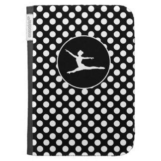Black and White Polka Dots; Ballet Case For Kindle