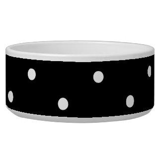 Black and White Polka Dots Bowl