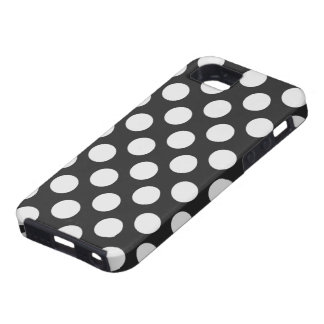 Black and White Polka Dots iPhone 5 Case