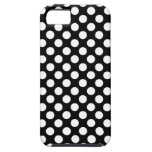 Black and White Polka Dots Case iPhone 5 Cases