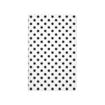 Black and White Polka Dots Pattern Journal