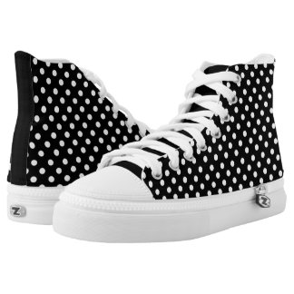 black polka dots on white s clothing apparel zazzle