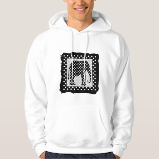 Black and White Polka Dots Sweatshirt