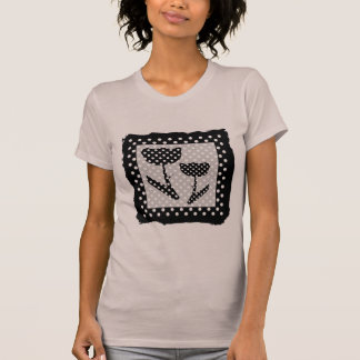 Black and White Polka Dots T-Shirt