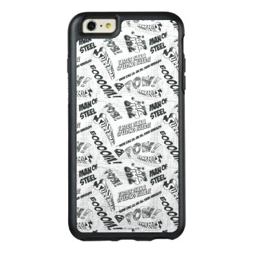 Black and White Pow! OtterBox iPhone 6/6s Plus Case