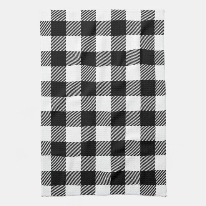 Black And White Kitchen Towel Set