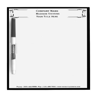 Black and White Professional Dry Erase Board