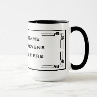 Black and White Professional Simple Mugs