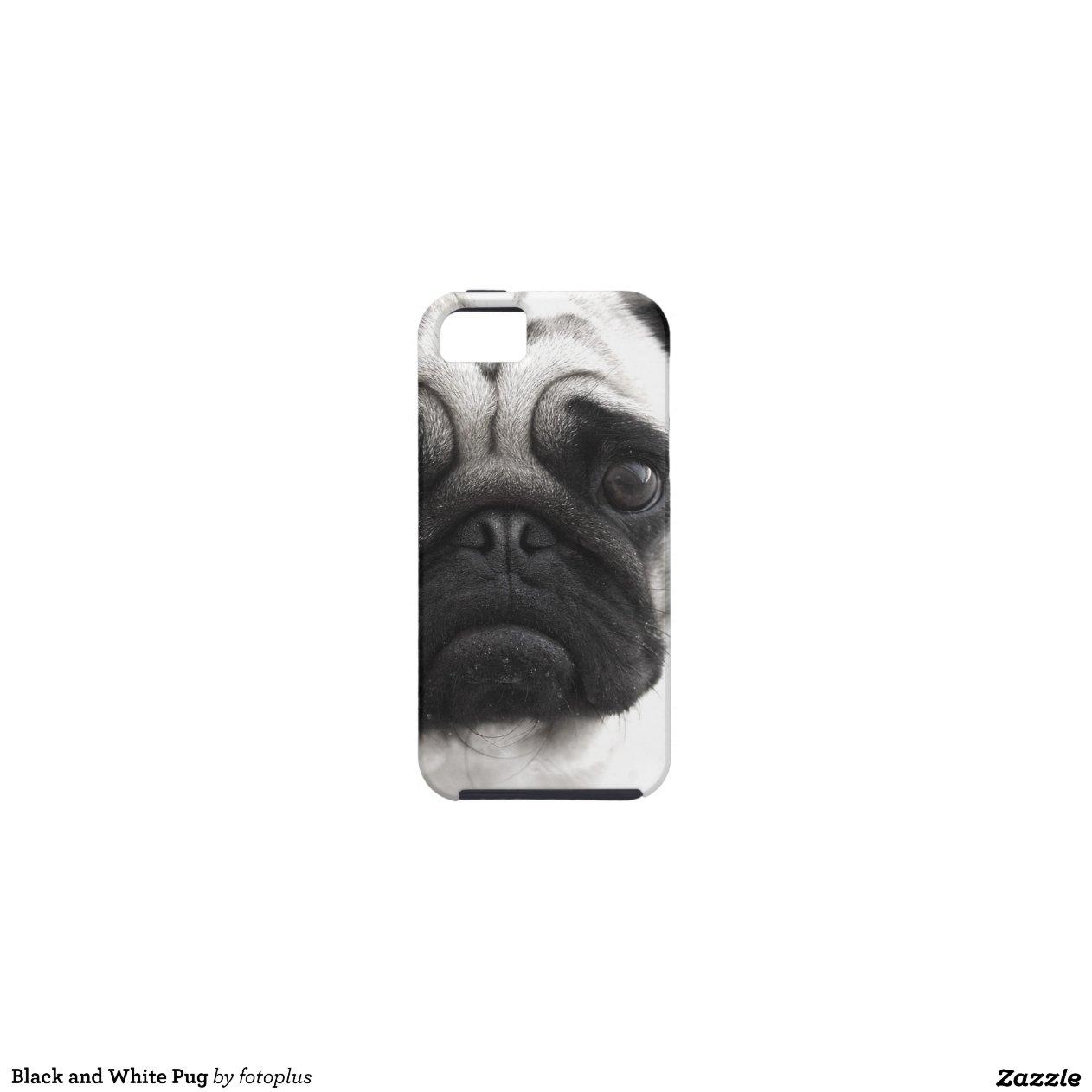 Black And White Pug IPhone 5 Cases Zazzle