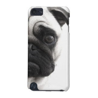 Black and White Pug iPod Touch (5th Generation) Cover