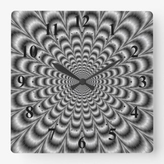 Black and White Pulse Wall Clock