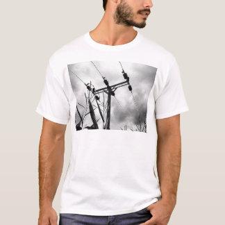 Black and white pylon T-Shirt