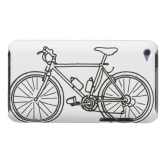 Black and White Race iPod Touch Case