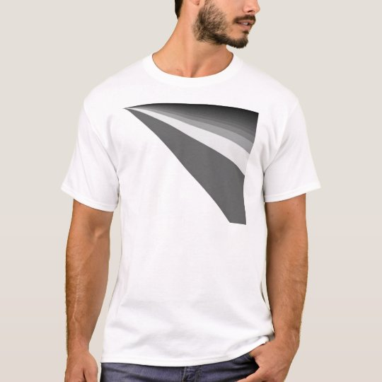 Black And White Rainbow T-Shirt