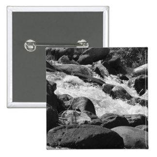 Black and White Rapids Button
