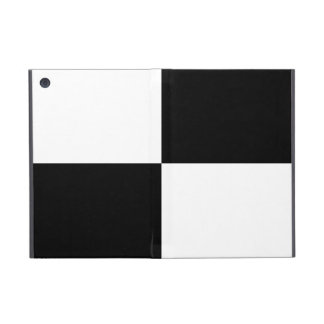Black and White Rectangles iPad Mini Cases