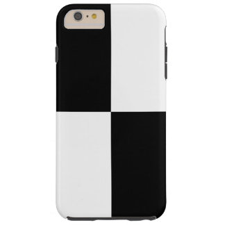 Black and White Rectangles iPhone 6 Plus Case