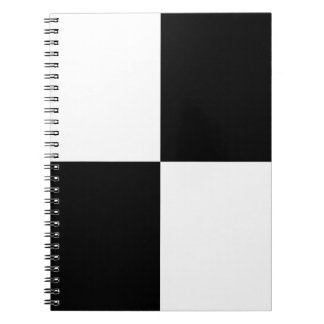 Black and White Rectangles Notebook