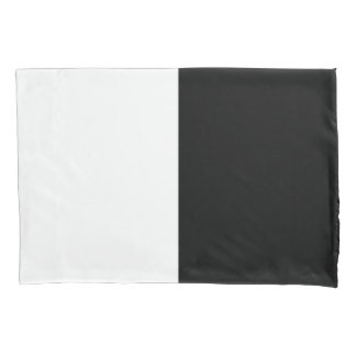 Black and White Rectangles Pillowcase