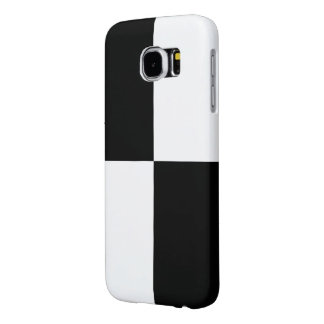 Black and White Rectangles Samsung Galaxy S6 Case