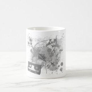 Black And White Retro Mug
