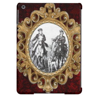 Black And White Riders On Horses iPad Air Case