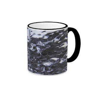 Black and White Ringer Mug