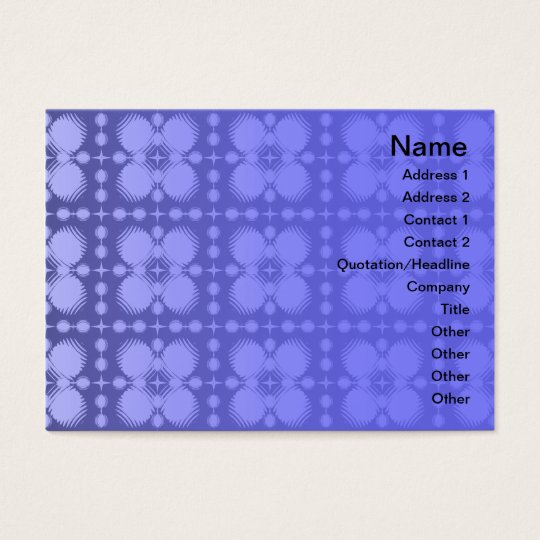 Black and White Ripples Small Business Card
