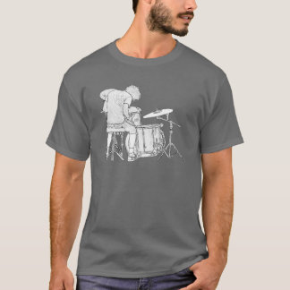 Black and White Rock Guy T-Shirt