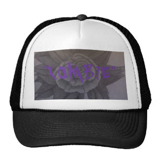 "black and white rose, ""XOMBIE"" Trucker Hat"