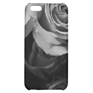 Black and White Roses iPhone 5C Cover