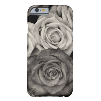 Black and White Roses iPhone 6 Barely There Case Barely There iPhone 6 Case