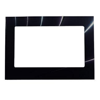 Black and White Royal Magnetic Photo Frame