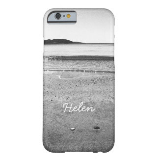 Black and White Sand Beach Barely There iPhone 6 Case