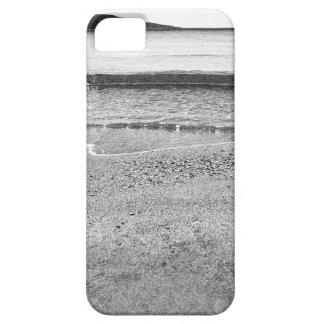 Black and White Sand Beach iPhone SE/5/5s Case