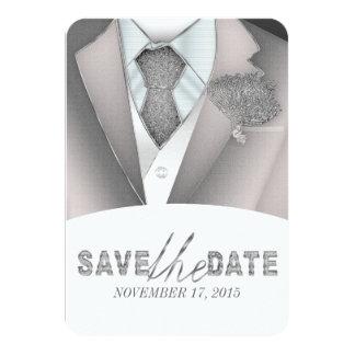 """Black and white Save the date unique invitations 3.5"""" X 5"""" Invitation Card"""
