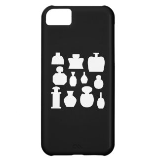 Black and White Scent Bottles Design. iPhone 5C Cases