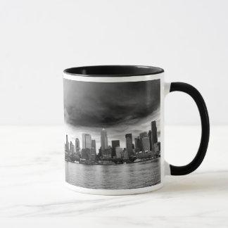 Black and white seattle mug