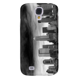 Black and white seattle samsung galaxy s4 case