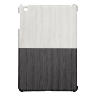 Black and White Silk I-Pad Case Cover For The iPad Mini