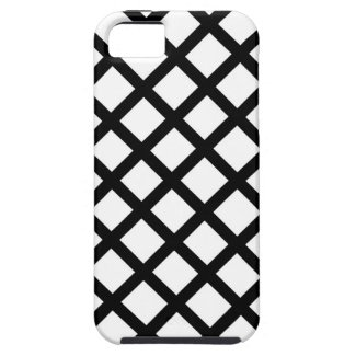 Black and white simple pattern