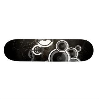 Black And White Skateboard