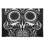 Black and White Skull /  Day of the Dead Placemats