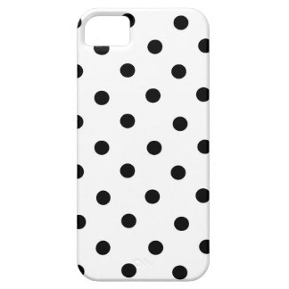 Black and White Small Polka Dot iPhone Case