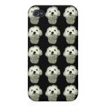Black and White Smirk Case For iPhone 4